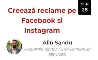 Creează reclame pe Facebook și Instagram (Alin Sandu)