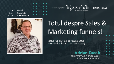 Totul despre Sales & Marketing Funnels (Adrian Iacob)