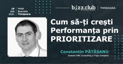 Cum să-ți Crești Performanța prin PRIORITIZARE (Constantin Pătășanu)